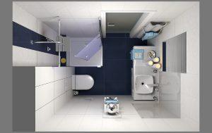 Villeroy & Boch verwandelt kleinste Gästebäder zu Wohlfühloasen. © Villeroy & Boch