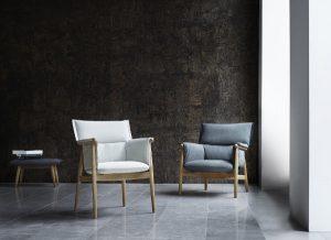 Lässig, elegant, charmant: Der Embrace Lounge Chair von Carl Hansen & Son. © Carl Hansen & Søn