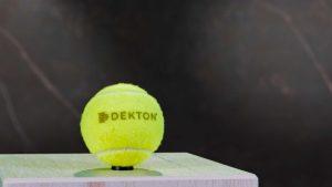 Erfolgreich, gehen der Tennisstar und die renommierte Marke mit Top-Oberfläche gemeinsame Wege. © Cosentino Group