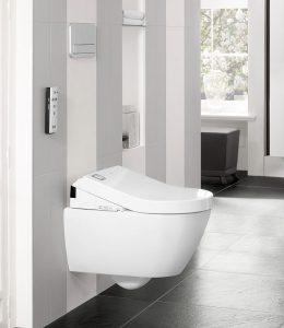 Ganz einfach, ist das Dusch-WC für alle, für Klein und Groß, für Frau und Mann geeignet. © Villeroy & Boch