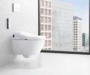 Das stille macht Villeroy & Boch mit den ViClean Dusch-WCs zum stilvollen Örtchen. © Villeroy & Boch