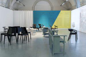 """""""North. West East. A JOURNEY WITH MATTIAZZI"""" zeigt und erzählt die Möbeldesign-Geschichte des Labels. © Daniela Trost für designforum Wien"""