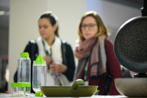 Die Ambiente zeigt mit der Solutions-Sonderpräsentation clevere Ideen und ist zudem Rahmen für viele Preisverleihungen. © Messe Frankfurt Exhibition GmbH / Pietro Sutera