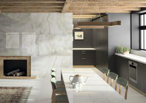 Dekton® XGloss erhält mit drei Hochglanz-Farben Zuwachs. © Cosentino Group