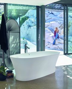 Die Cape Cod Badewannen sind echte eyecatcher im Badezimmer. © Duravit