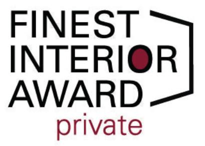 Die Sieger des FINEST INTERIOR AWARD:private wählt die Ehren-Jury unter Vorsitz von Designer Stefan Herkner. © FINEST SPIRIT UG/FINEST INTERIOR AWARD