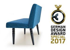 """Ausgezeichnet: """"Marie"""" von Forcher erhält den German Design Award 2017. © Forcher"""