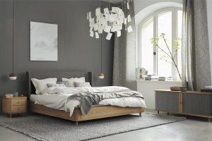 """Bei Grüne Erde bestimmt die Natur das Design. Dies zeigt sich in jedem Stück, wie dem """"Tonda""""-Bett. © Grüne Erde"""