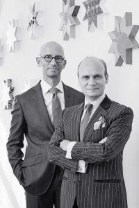Sieger unter sich: die Brüder Christian und Michael. © sieger design
