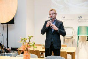 TON-CEO Milan Dostalik freute sich über die Eröffnung des City-Showrooms… © TON