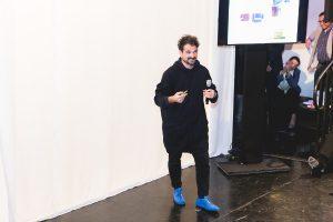 """Designer Jaime Hayon stellte die neue Kollektion """"Wittmann Hayon Workshop"""" vor. © Wittmann/Österr. Möbelindustrie/FlorenceStoiber"""