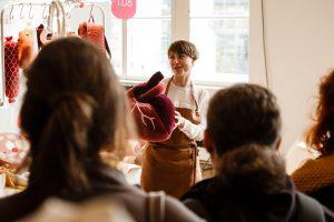 Designer und kreative Labels präsentierten Designenthusiasten ihre Highlights. © blickfang