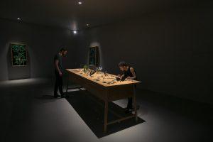 """Arbeit an """"ephemerā"""", das auf der Design Miami 2014 präsentiert wurde. © Gesi Schilling"""