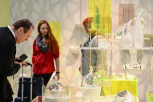 Die Präsentation lädt zur Erlebnisreise der vier Trendthemen. © Messe Frankfurt Exhibition GmbH / Pietro Sutera