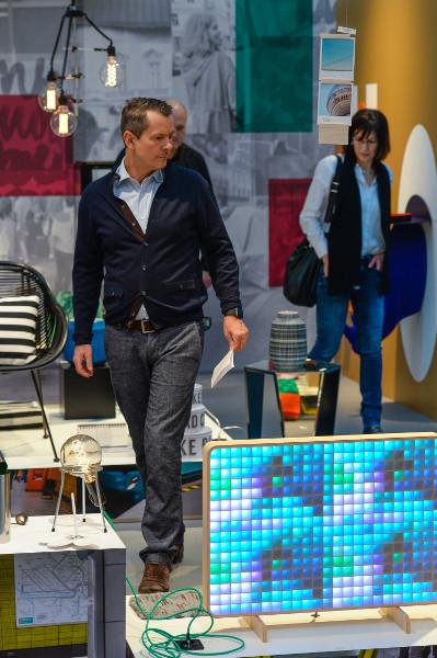 """Live zu sehen & erleben: """"Delicate Structures"""", """"Honest Materials"""", """"Jumbled Pattern"""" und """"Notable Shapes"""". © Messe Frankfurt Exhibition GmbH / Pietro Sutera"""