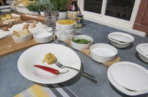 """Top-Labels und prominente Newcomer zeigen ihre Innovationen – u.a. im Bereich """"Dining"""". © Messe Frankfurt Exhibition GmbH / Petra Welzel"""
