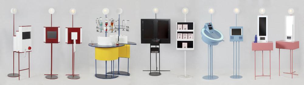 Cosentino sponserte das Design-Projekt von Bollería Industrial. Das Ergebnis: Zehn Automaten mit Humor und Style. © Cosentino Group
