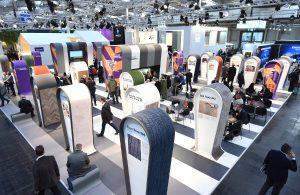 38 Produkte werden auf den Innovations@DOMOTEX-Areas präsentiert. © Deutsche Messe