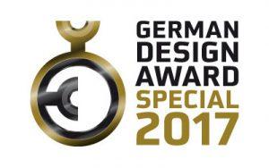 """Ausgezeichnet mit einer """"Special Mention"""" beim German Design Award 2017""""… © German Design Council"""