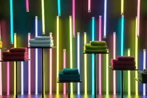 Textile Neuheiten überall, garniert mit Specials wie Guides – die Heimtextil hat es in sich. © Messe Frankfurt Exhibition GmbH / Jochen Günther