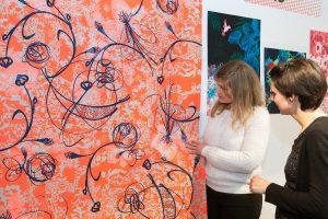 """Mit """"Design live"""" wird die weltweit größte Auswahl an Textildesign präsentiert. © Messe Frankfurt Exhibition GmbH / Jean-Luc Valentin"""