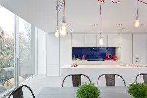 Das Küchenstudio Enclosure schaffte es mit der Planung einer Einbauküche in einem ehemaligen Wasserturm auf Platz 3. © Enclosure