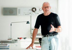 Dieter Rams und seinem Werk widmet sich das Vitra Design Museum mit einer aktuellen Ausstellung. Foto: Michael Kretzer