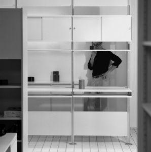 Die Schau dreht sich um den Designer und Schlüsselwerke wie das Regalsystem 606 für Vitsoe (ca 1971-75), Foto: Ingeborg Kracht Rams/ © Vitsoe/Foto: Ingeborg Kracht Rams