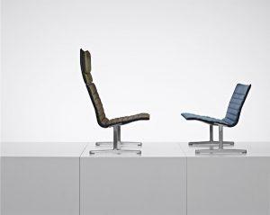 Eine Vielzahl von Kreationen entflossen Dieter Rams Designfeder - wie das Sesselprogramm 601/02 (RZ 60). Foto: Christoph Sagel/ © APPEL DESIGN GALLERY, Berlin