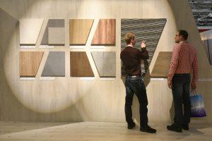 Oberflächen, Materialien & mehr: Die interzum ruft mit einer bunten Innovationsvielfalt rund um den Innenausbau und die Möbelfertigung. © Koelnmesse