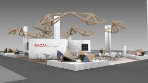 Branchenhotspot, warten auf der interzum Innovationen, Technologien und Design satt - und Piazze mit spannenden Themen. © Koelnmesse