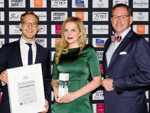 Preisträger in 13 Kategorien wurden prämiert, u.a. Landau + Kindelbacher Architekten I Innenarchitekten mit gleich mehreren Awards. © FINEST SPIRIT UG/FINEST INTERIOR AWARD