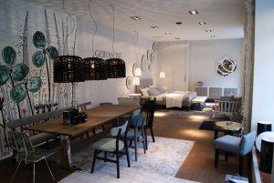 """Auf 80 Quadratmetern wird hier """"vivere a la GERVASONI"""" gezeigt. © Casa del Design"""