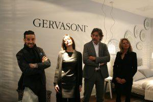 Freude & Stolz: Andrea Pittarelli, Claudia Störck, Giovanni Gervasoni und Alice Gräf (Agentur Rückl & Co KG). © Casa del Design
