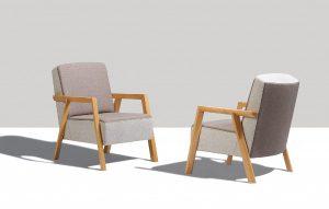 """Für stilvoll-modernen Sitzkomfort sorgt der von guggenbichlerdesign kreierte """"Alpin"""" von Haapo. © Haapo"""