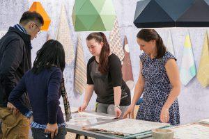 Top-Player und junge Kreative zeigen in puncto textiles Interior Design auf. © Messe Frankfurt Exhibition GmbH / Jean-Luc Valentin