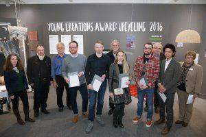 """Die Gewinner des """"Young Creations Award: Upcycling"""" werden gekürt und die innovativen Textilprojekte vorgestellt. © Messe Frankfurt Exhibition GmbH / Jean-Luc Valentin"""