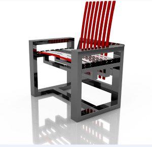 Mit Modellen u.a. in Schwarz lädt Holzloft auf der imm cologne zum Erleben und Sitztest. © Holzloft