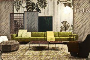 LEOLUX und Designer Edward van Vliet kreierten und präsentieren vier neue Wohnwelten. © LEOLUX