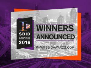 Die Gewinner der SBID International Design Awards stehen fest und wurden ausgezeichnet. © SBID