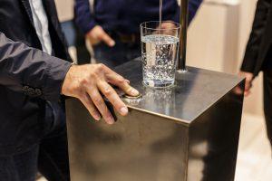 Die Wasserstelle interpretiert der bulthaup campus neu und modern. © bulthaup