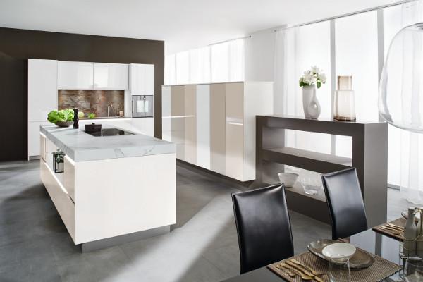 Glänzendes Smart Glas:wohndesigners