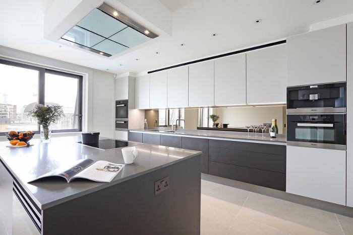 """Luxuriöses Küchendesign """"on top"""":wohndesigners"""
