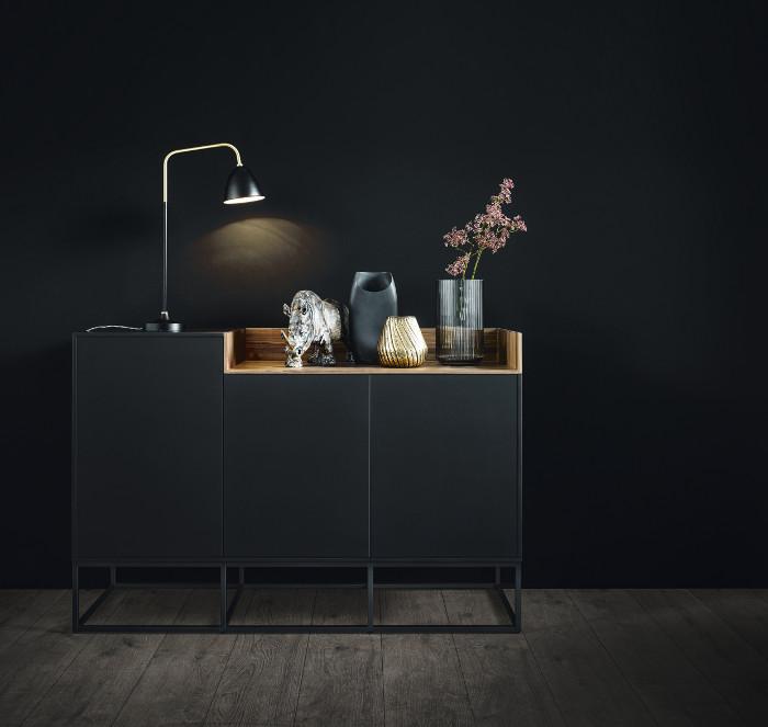 neu definierter lebensraum k che wohndesigners. Black Bedroom Furniture Sets. Home Design Ideas