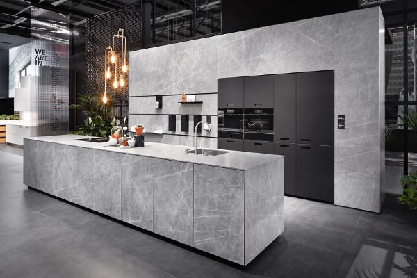 Spektakulärer Lebensraum Küche:wohndesigners