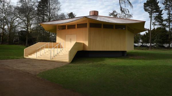"Location für sich: ""Krefeld Pavillon"". © Projekt MIK, Foto: Michael Dannenmann"